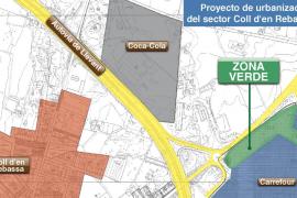 Carrefour pagará 858.219 euros a Cort por no ejecutar una zona verde