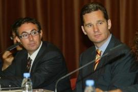 La Audiencia rebaja de 8,2 a 6 millones  de euros la fianza civil a Urdangarin y Torres