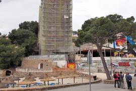 Acuerdo para paralizar las obras del hotel Kameha de Portals en verano