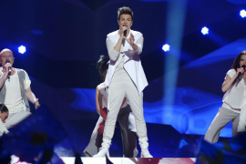 Eurovisión 2013Stjernberg of Sweden performs during the final of the 2013 Eurovision Song Contest in Malmo