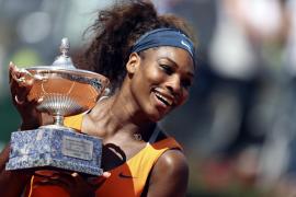 Serena Williams fulmina a Azarenka y conquista Roma