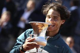 Nadal reina por séptima vez y prolonga la maldición de Federer en Roma