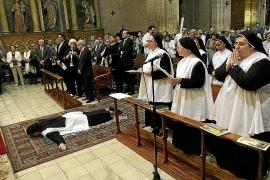 Profesión solemne de sor Miriam de la Trinidad en Santa Magdalena
