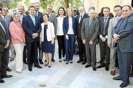 Celebración del Día de Europa en el Consolat de la Mar.