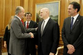 El Rey recibe en audiencia al Patronato de la Fundación Kovacs