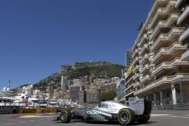 Rosberg, el mejor en los primeros libres de Mónaco seguido de Alonso