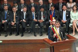 Rafael Correa asume su nuevo mandato como presidente de Ecuador