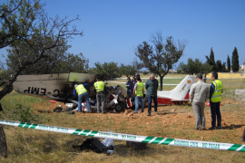 Trágico accidente de una avioneta en Marratxí