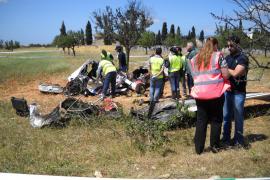 Trágico accidente de una avioneta en Marratxí