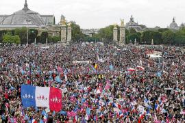 150.000 manifestantes protestan en París contra el matrimonio gay