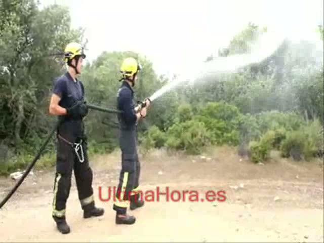 Arranca la lucha contra el fuego en Palma