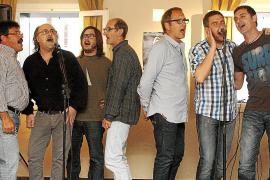 Presentación en Ciutadella del CD 'Ciutat de Parella' para las fiestas de Sant Joan 2013