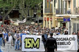La Audiencia anula una causa contra 'indignados' de Palma