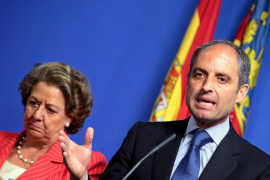 Castro propone al TSJ de Valencia que investigue a Camps y Barberá