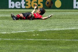 Dos Santos y Bigas, dudas en la 'final' ante el Valladolid