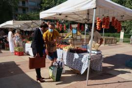 Soberanía Alimentaria impulsa un proyecto de dinamización de mercados para promocionar el producto local
