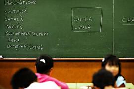 Los nuevos alumnos que eligen el catalán como primera lengua pasan del 62 al 70%