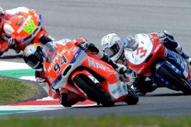 Folger le quita el mejor tiempo a Viñales tras el rebufo de su moto