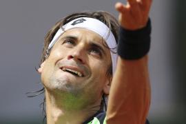 Federer sufre en cinco sets y pasa a cuartos con Ferrer, Tsonga y Robredo