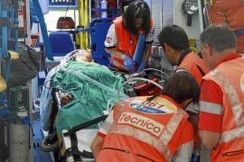 En estado crítico un hombre que se quemó el 75% del cuerpo en un accidente en Bahía Azul