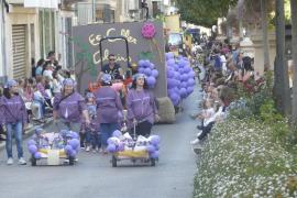 Desfile de carrozas en Manacor