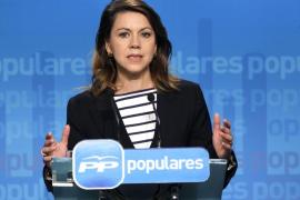 Cospedal asegura que Rita Barberá cuenta con el apoyo del PP