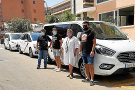 Los taxistas de Llucmajor, contra la ampliación de la línea A2 de la EMT