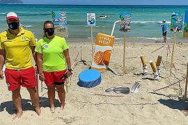 Las playas de Can Picafort y Son Serra, contra la huella ambiental de los residuos
