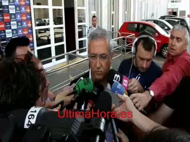 Manzano, pendiente del proyecto deportivo para decidir si continúa en el Mallorca