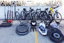 Tres detenidos por vender por internet bicicletas de alta gama que robaban