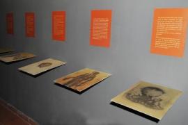 Miquel Barceló, en el Museu Regional de Artà