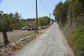 Accidente de tractor en Son Macià, Manacor