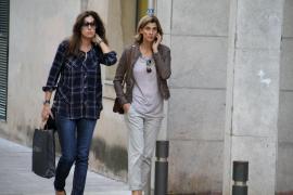 Rosario Nadal pasa unos días en Palma