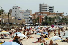 Unos veinte hoteles crecerán entre cuatro y ocho metros de altura en la Platja de Palma