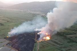 Incendio en en Ses Jonqueres Veres