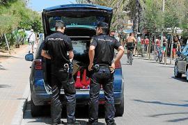 Prisión para los implicados en la riña en una plataforma flotante de s'Arenal