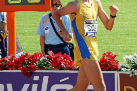 EIVISSA. ATLETISMO. MarcTur, subcampeón de España de marcha
