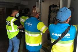 La Policía Local de Palma identifica a 120 personas que pirateaban los contadores de agua