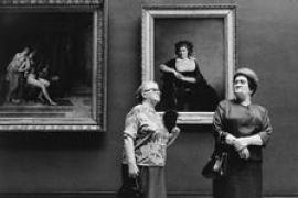 'El Louvre y sus visitantes', fotografías de Alécio de Andrade