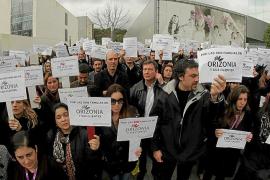 Medio centenar de trabajadores impugna ante el juez el ERE de Orizonia