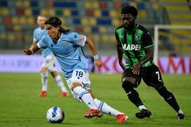 Luka Romero debuta en la Serie A con la Lazio