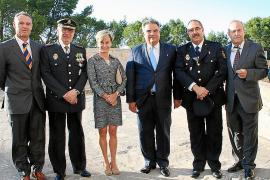 Entrega de medallas en la Diada de la Policia Local de Palma