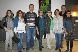 Inauguración de una exposición en la Escola Superior de Disseny