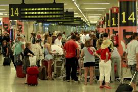 El turismo extranjero provoca que Son Sant Joan bata el récord de pasajeros en mayo