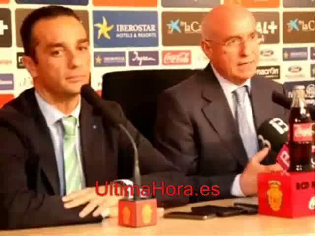 Oltra anuncia que su único objetivo es ascender al Mallorca
