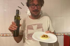 Vieiras con lima y soja con pure de patata por Juan Antonio Díaz.