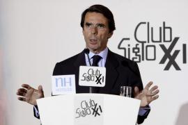 Aznar exige a Rajoy un reformismo de «alta intensidad»