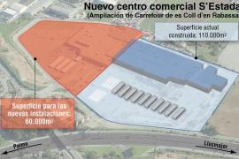 Cort concede a Carrefour la licencia para construir el centro comercial s'Estada