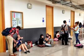 Miles de estudiantes iniciaron ayer en la UIB, con optimismo generalizado, las tres jornadas de las pruebas de acceso a la universidad