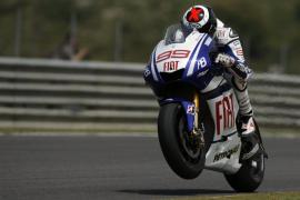 Lorenzo, segundo en los entrenamientos de Jerez tras Stoner